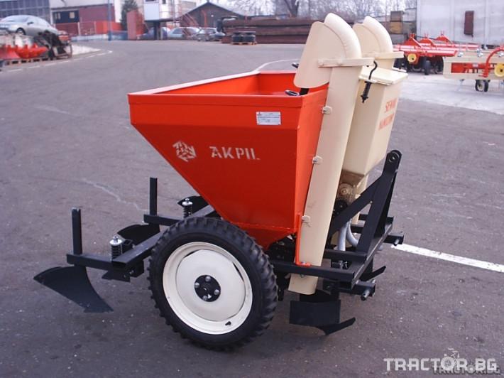 Машини за зеленчуци Сеялка за картофи 1 - Трактор БГ