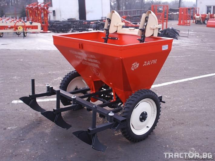 Машини за зеленчуци Сеялка за картофи 2 - Трактор БГ