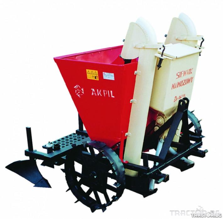 Машини за зеленчуци Сеялка за картофи 3 - Трактор БГ