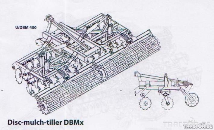 Брани дискова брана SMS, DBMx 2 - Трактор БГ
