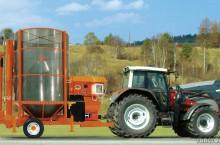 Внос Мобилни зърносушилни AGREX