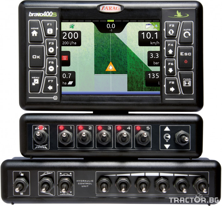 Прецизно земеделие GPS навигация BRAVO 400S 2 - Трактор БГ
