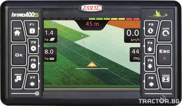 Прецизно земеделие GPS навигация BRAVO 400S 3 - Трактор БГ
