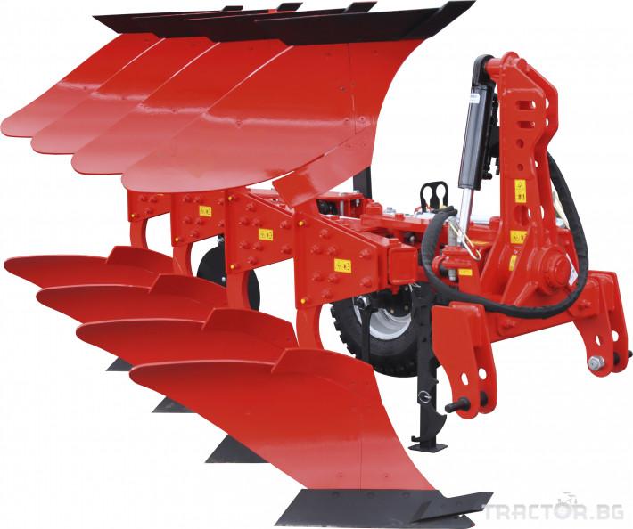Плугове Akpil Обръщателен плуг MIX DUE 3+1 3 - Трактор БГ