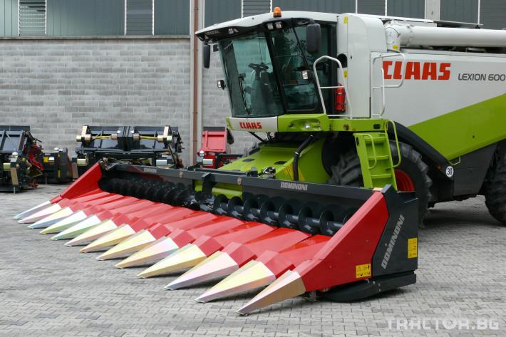 Хедери за жътва Dominoni адаптер за царевица - налични 1
