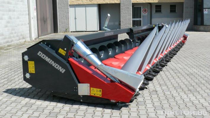 Хедери за жътва Dominoni адаптер за царевица - налични 3