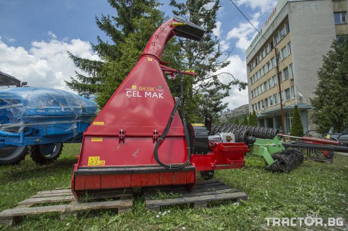 Машини за ферми Силажираща машина за сено CELMAK, тип КИР 1 - Трактор БГ