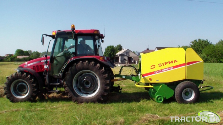 Сламопреси Рулонна сламопреса SIPMA 1211 Farma Plus 2 - Трактор БГ
