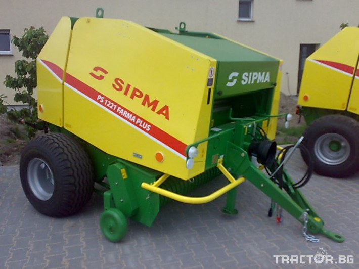 Сламопреси Рулонна сламопреса SIPMA 1221 Farma Plus 2 - Трактор БГ