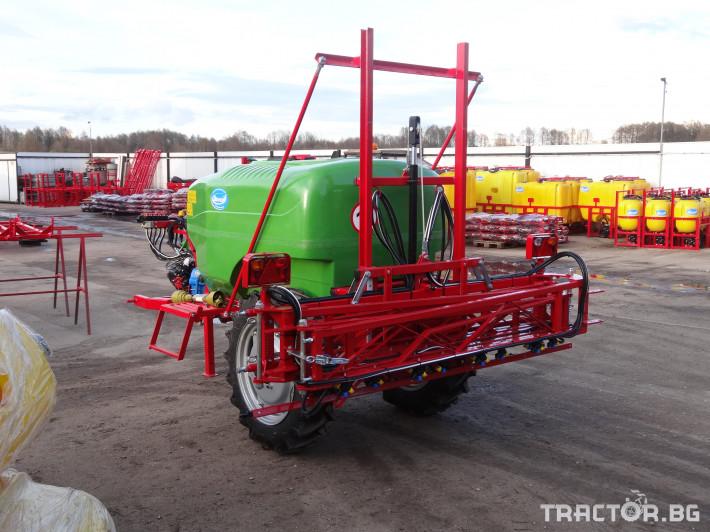 Пръскачки Прикачна пръскачка 1 500 л 0 - Трактор БГ