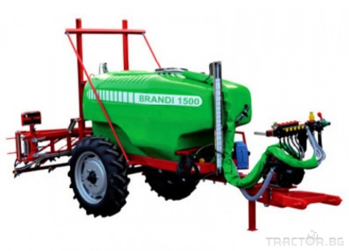 Пръскачки Прикачни пръскачки Brandi 2000 6 - Трактор БГ