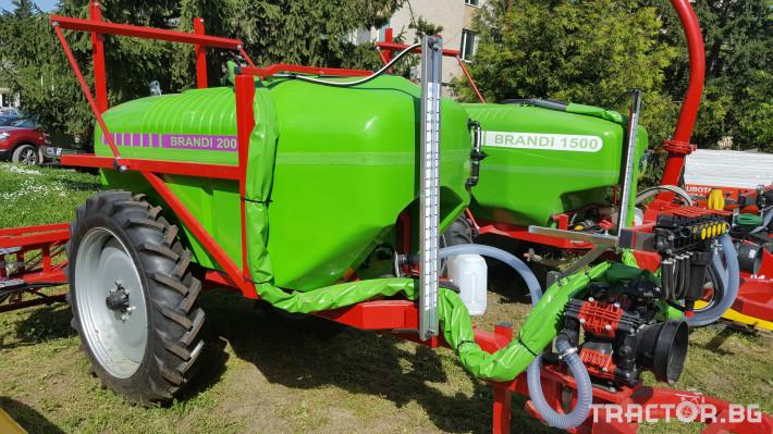 Пръскачки Прикачни пръскачки Brandi 2000 1 - Трактор БГ