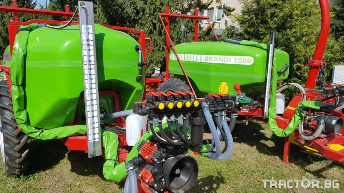 Пръскачки Прикачни пръскачки Brandi 2000 3 - Трактор БГ