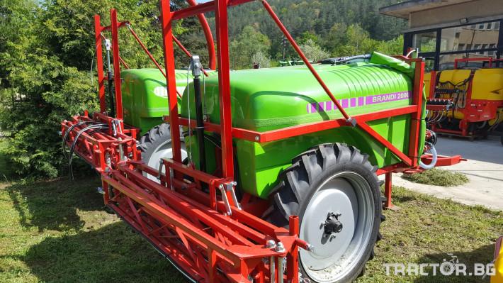 Пръскачки Прикачни пръскачки Brandi 2000 0 - Трактор БГ