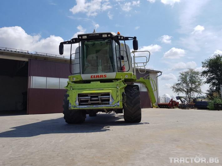 Комбайни Claas Lexion 570 Montana 2 - Трактор БГ