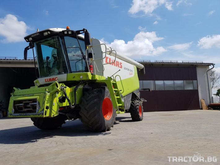 Комбайни Claas Lexion 570 Montana 3 - Трактор БГ