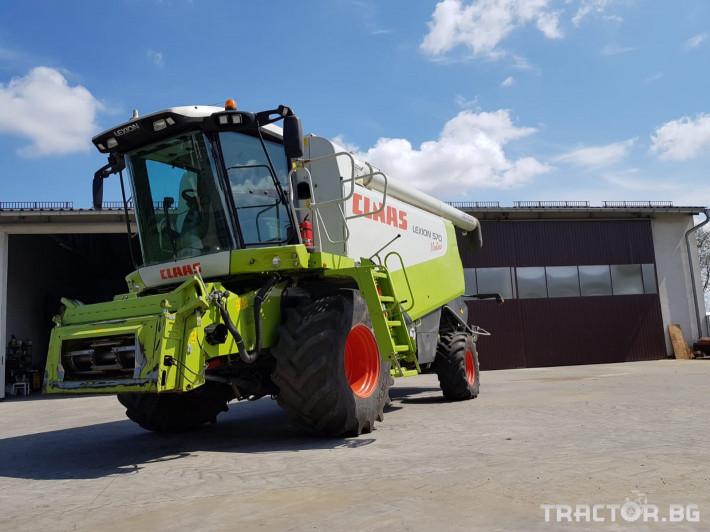 Комбайни Claas Lexion 570 Montana 4 - Трактор БГ
