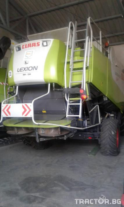 Комбайни Claas Lexion 570 Montana 5 - Трактор БГ