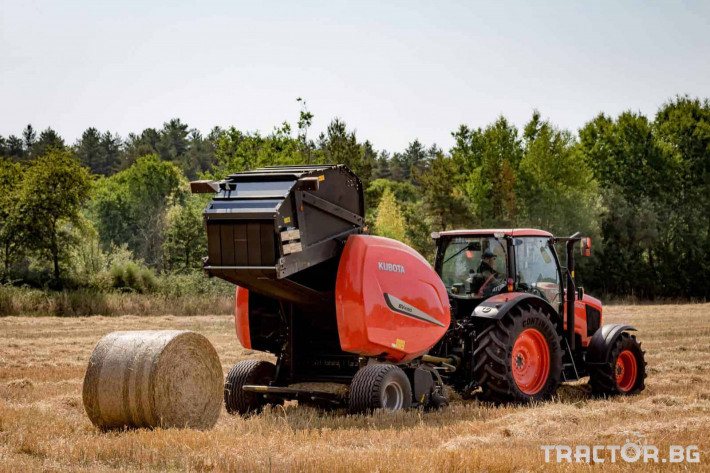 Сламопреси Рулонни сламопреси Kubota 5 - Трактор БГ