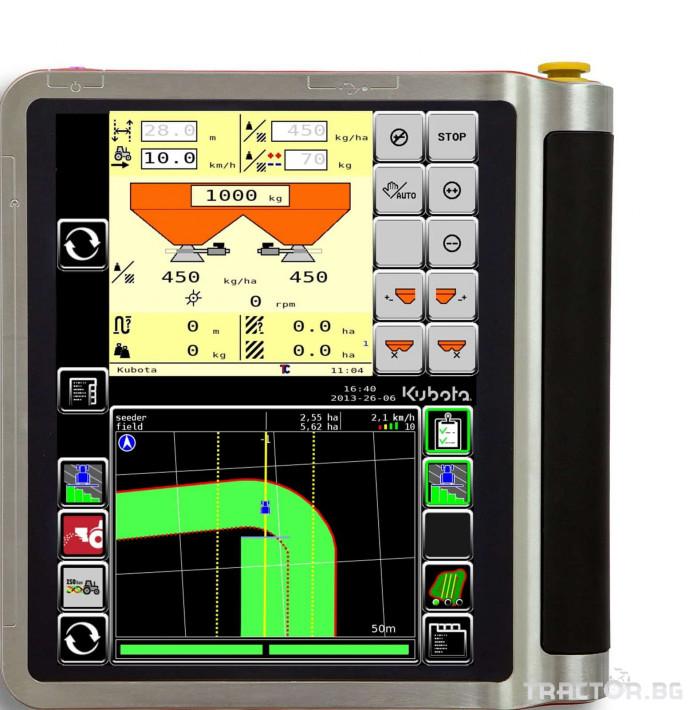 Прецизно земеделие GPS управление IsoMatch Tellus Kubota 1 - Трактор БГ