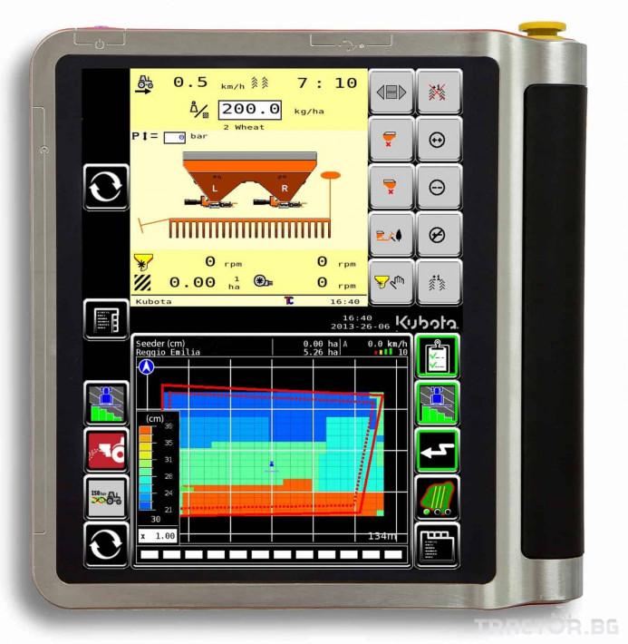 Прецизно земеделие GPS управление IsoMatch Tellus Kubota 5 - Трактор БГ
