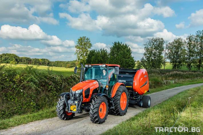 Трактори Kubota M5 091 5 - Трактор БГ