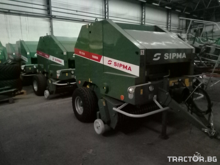 Сламопреси Sipma PS1510 Farma 0 - Трактор БГ