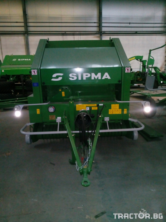 Сламопреси Sipma PS1510 Farma 1 - Трактор БГ