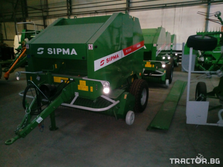 Сламопреси Sipma PS1510 Farma 2 - Трактор БГ