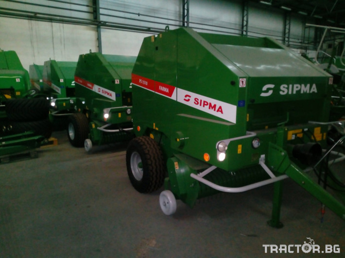 Сламопреси Sipma PS1510 Farma 3 - Трактор БГ