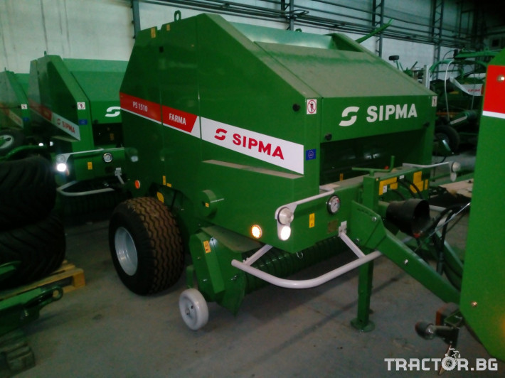 Сламопреси Sipma PS1510 Farma 4 - Трактор БГ