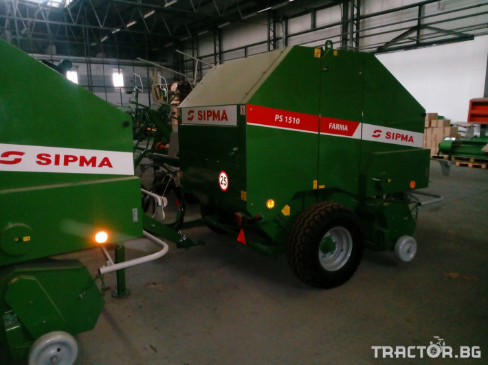 Сламопреси Sipma PS1510 Farma 5 - Трактор БГ
