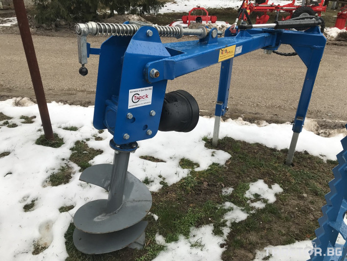 Машини за лозя / овошки Ямокопател MCMS-25/50 1 - Трактор БГ