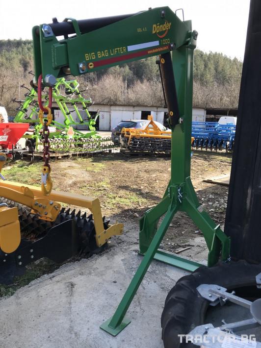 Торачки Кран Donder 7 - Трактор БГ