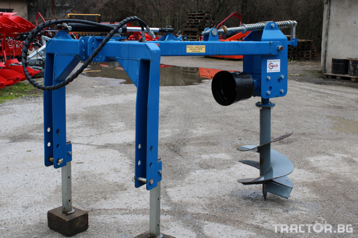 Машини за лозя / овошки Внос Ямокопател MCMS-25/50 1 - Трактор БГ