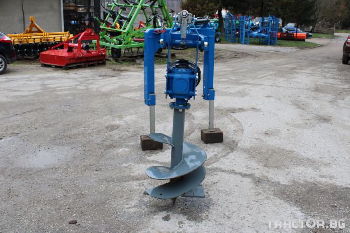 Машини за лозя / овошки Внос Ямокопател MCMS-25/50 2 - Трактор БГ