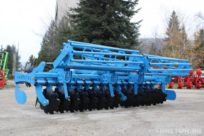 Брани Agristal 4 и 5 мерта сгъваеми 3 - Трактор БГ