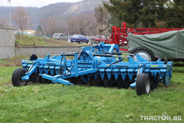 Брани Agristal 4 и 5 мерта сгъваеми 4 - Трактор БГ