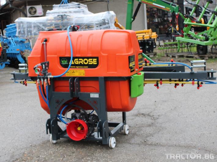 Пръскачки Agrose Навесни пръскачки Agrose 9 - Трактор БГ